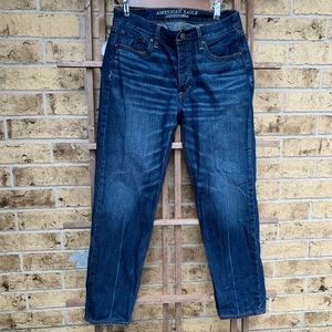American eagle vintage high waist button fly jeans